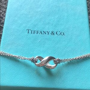Tiffany & Co. infinity necklace 16 inches